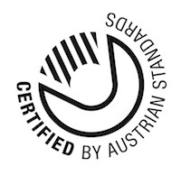 Logo: Certified bei Austrian Standards